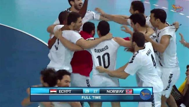 اهداف مباراة مصر والنرويج (29-27) كاس العالم لكرة اليد للشباب