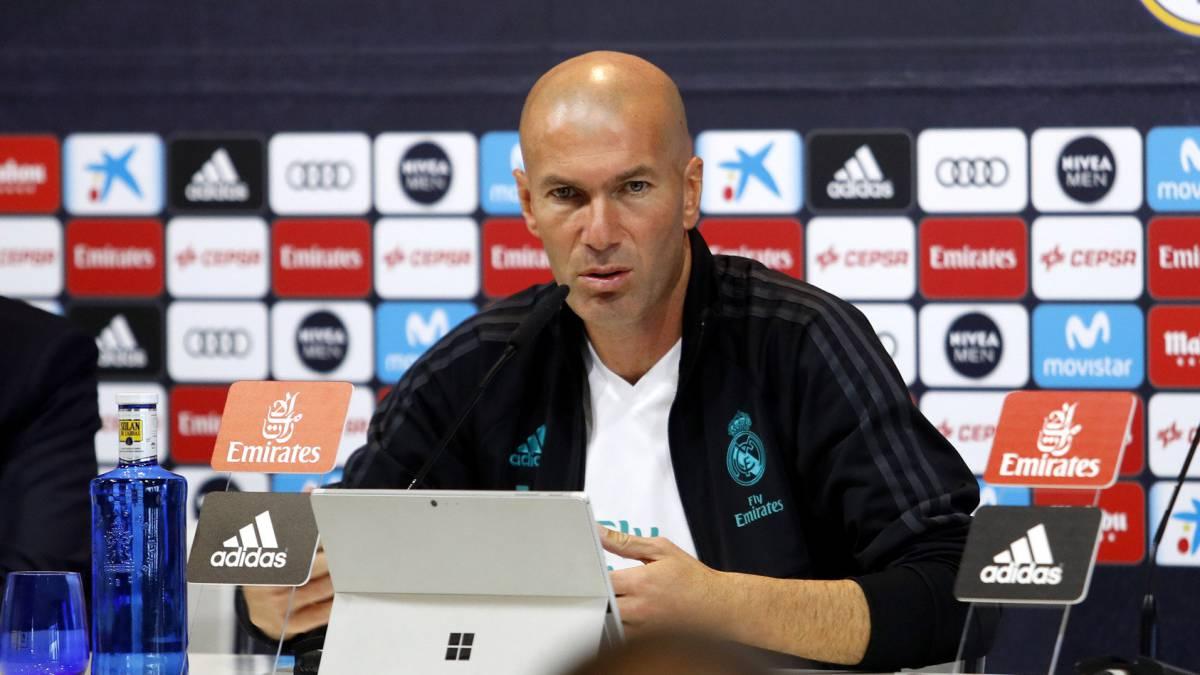 تصريحات زين الدين زيدان بعد مباراة ريال مدريد واتلتيكو مدريد
