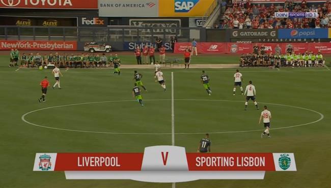 ملخص مباراة ليفربول وسبورتينج لشبونة (22) مباراة ودية