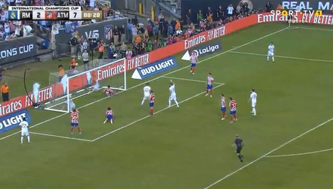 هدف ريال مدريد الثالث في مرمي اتلتيكو مدريد