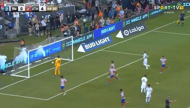 هدف اتلتيكو مدريد الخامس في مرمي ريال مدريد