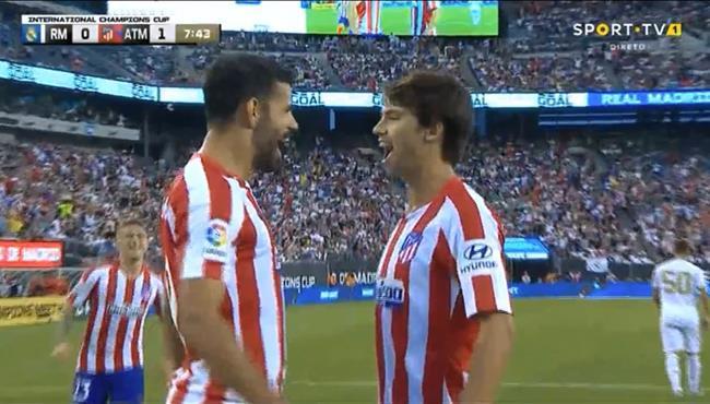 هدف اتلتيكو مدريد الثاني في مرمي ريال مدريد