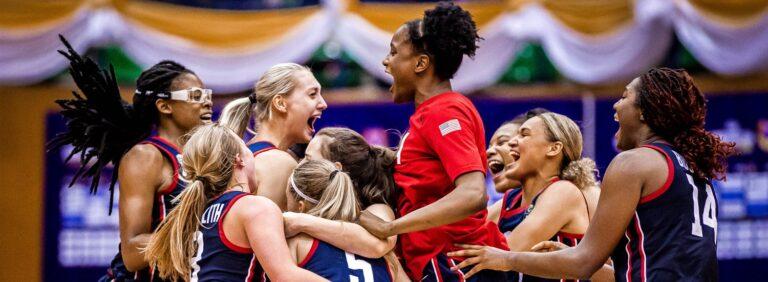 أميركا تحسم لقب كأس العالم لكرة السلة للشابات