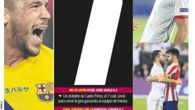 Photo of سباعية اتلتيكو مدريد وصحف اسبانيا..