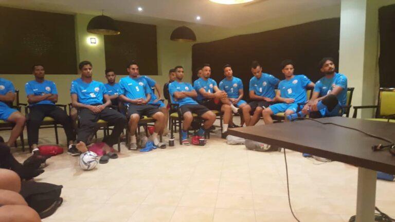 تقديم: الليلة المنتخب اليمني في مواجهة فلسطين في بطولة غرب اسيا