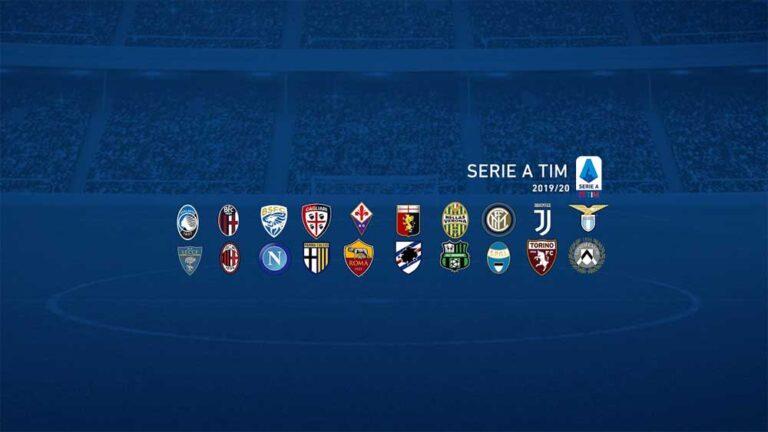 جدول مباريات الدوري الإيطالي 2019 – 2020