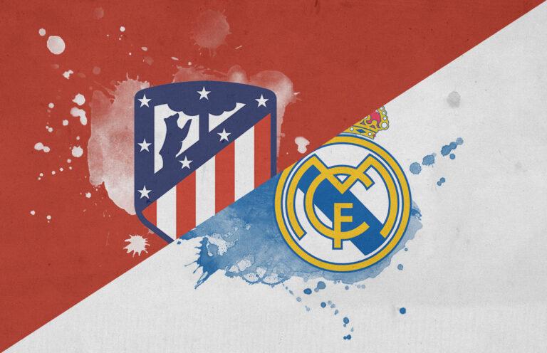 ملخص مباراة ريال مدريد واتلتيكو مدريد 3-7 – مباراه قوية