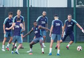 فريق برشلونة يبدا جولتة الصيفية الثانية