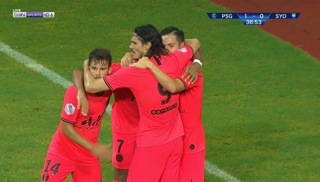 شاهد هدف مدهش بالكعب في مباراة باريس سان جيرمان وسيدني