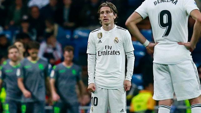خمس مشاكل في ريال مدريد …!!