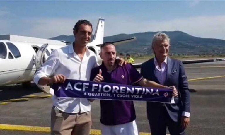 رسميا ريبيري يتعاقد مع نادي فيورنتينا الايطالي