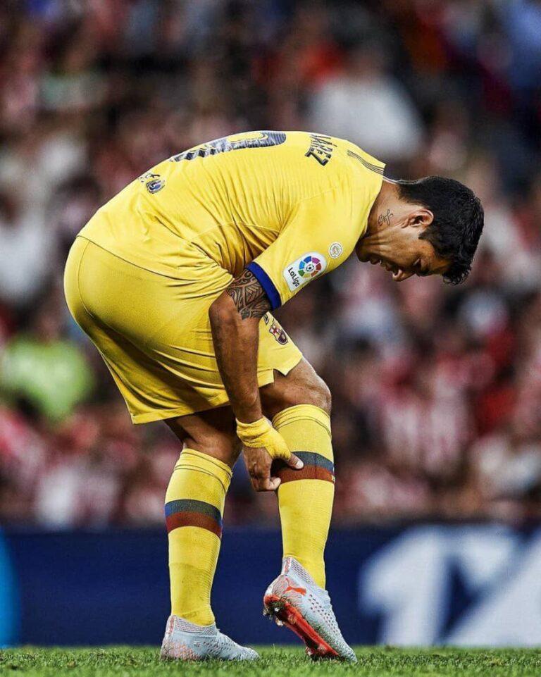 اصابة سواريز تزيد من صعوبات برشلونة