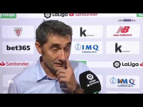 تصريحات مدرب ولاعبي برشلونة بعد خسارتهم من بلباو