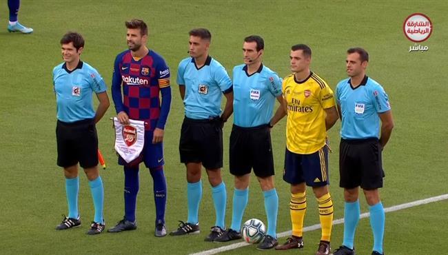 ملخص مباراة برشلونة وارسنال – كأس خوان جامبر