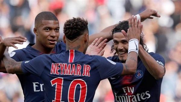 شاهد اهداف مباراة باريس سان جيرمان ونيم 3-0 في الدوري الفرنسي