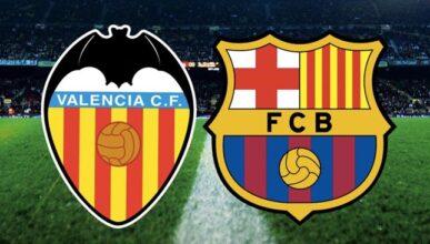 احصائيات قمة الجولة الرابعة من الدوري الاسباني برشلونة وفالنسيا