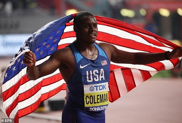 كولمان بطل العالم في سباق 100 متر – بطولة العالم بالدوحة خلال9,76 ثوان