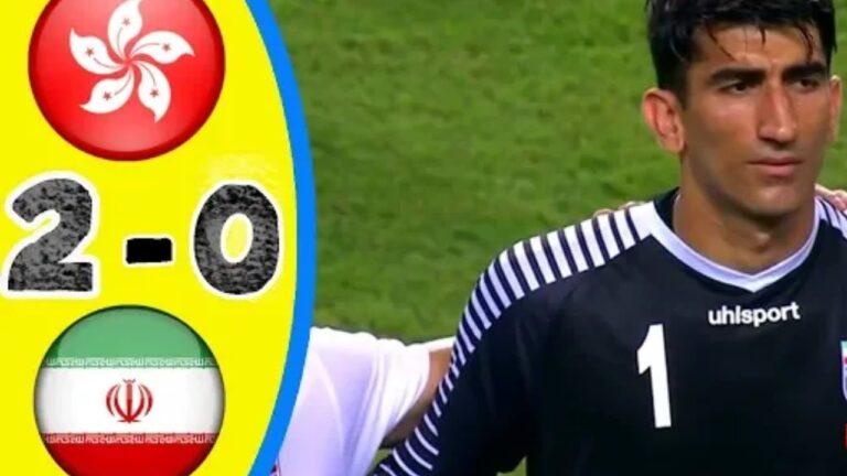 اهداف وملخص مباراة هونج كونج وايران تصفيات آسيا المؤهلة لكأس العالم 2022
