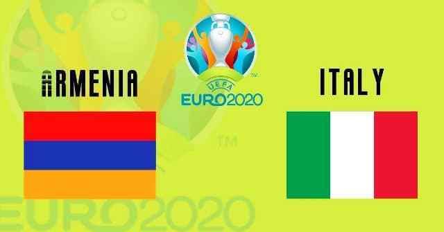 اهداف وملخص مباراة ايطاليا وارمينيا التصفيات المؤهلة ليورو 2020