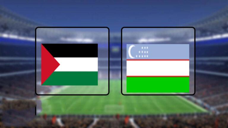 اهداف وملخص مباراة فلسطين وأوزباكستان تصفيات آسيا المؤهلة لكأس العالم 2022