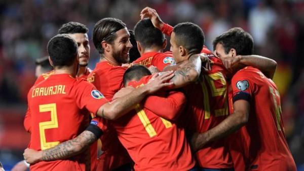أهداف و ملخص مباراة اسبانيا ضد جزر فارو 4-0 في تصفيات امم اوروبا