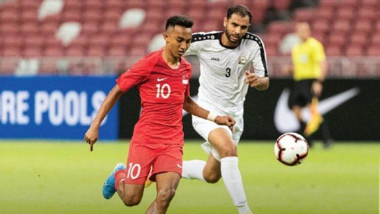 اهداف وملخص مباراة اليمن وسنغافورة تصفيات آسيا المؤهلة لكأس العالم 2022