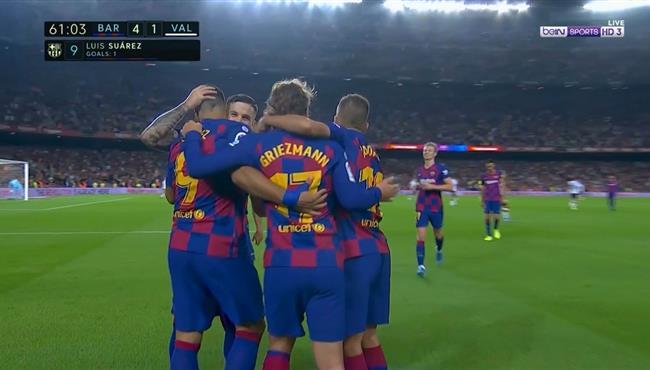 اهداف وملخص مباراة برشلونة ضد فالنسيا الدوري الاسباني بتاريخ 14-09-2019