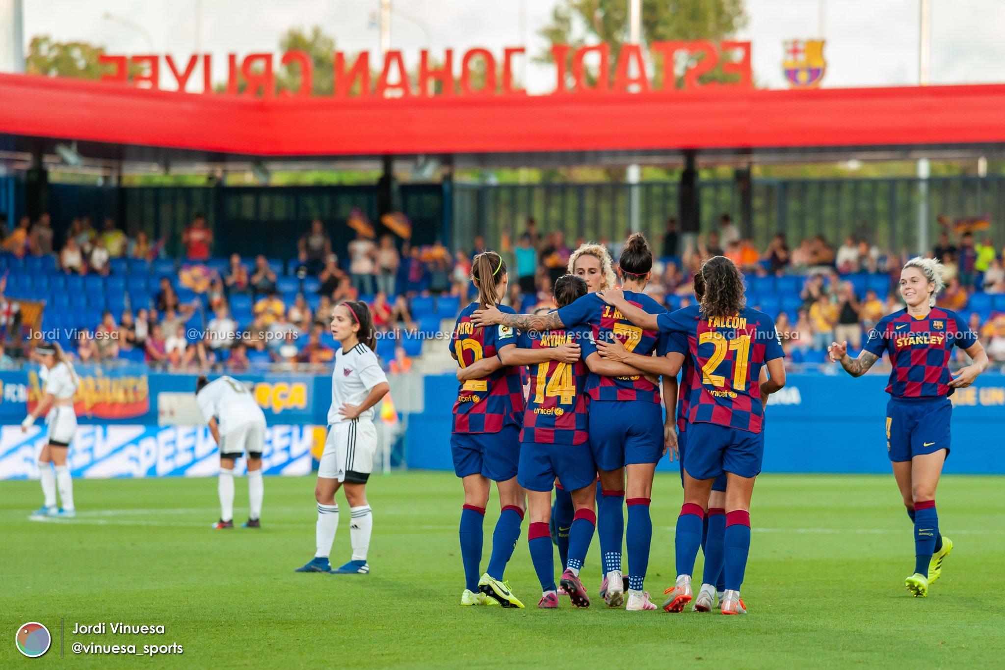 فريق نادي برشلونة للسيدات 2019 تقرير تفصيلي بالصور