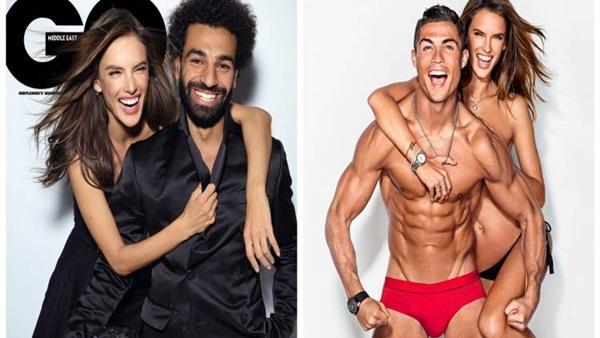 شاهد بالصور محمد صلاح على خطى نجوم كرة القدم العالمية