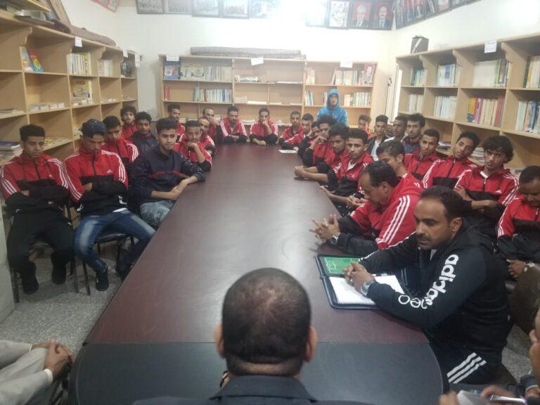 تكريم لاعبي اهلي صنعاء بقيادة المدرب علي النونو