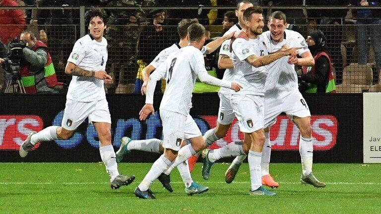 المنتخب الإيطالي يحقق رقما تاريخيا