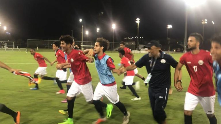 المنتخب اليمني للشباب يفوز على تركمانستان في أولي مبارياتة في تصفيات كاس اسيا للشباب