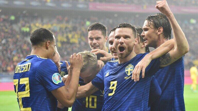 السويد تلتحق بالمتأهلين إلى نهائيات يورو 2020