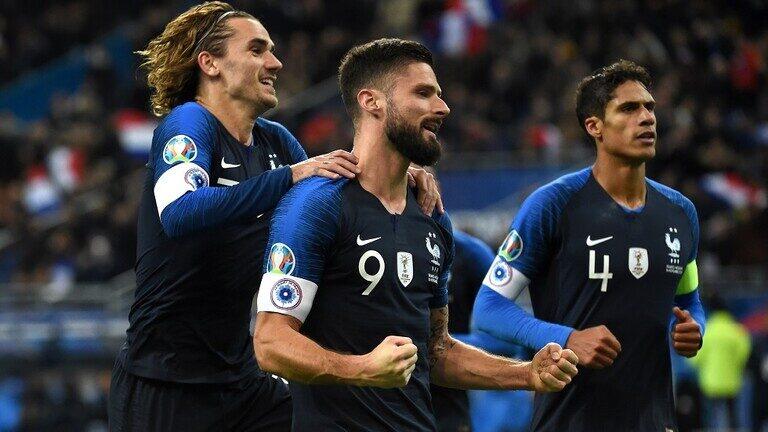 فرنسا تخطف الصدارة لـ يورو 2020