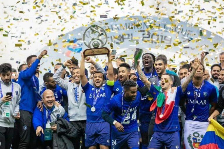 الهلال السعودي أفضل نادي في الوطن العربي حسب جلوب سوكر العالمية