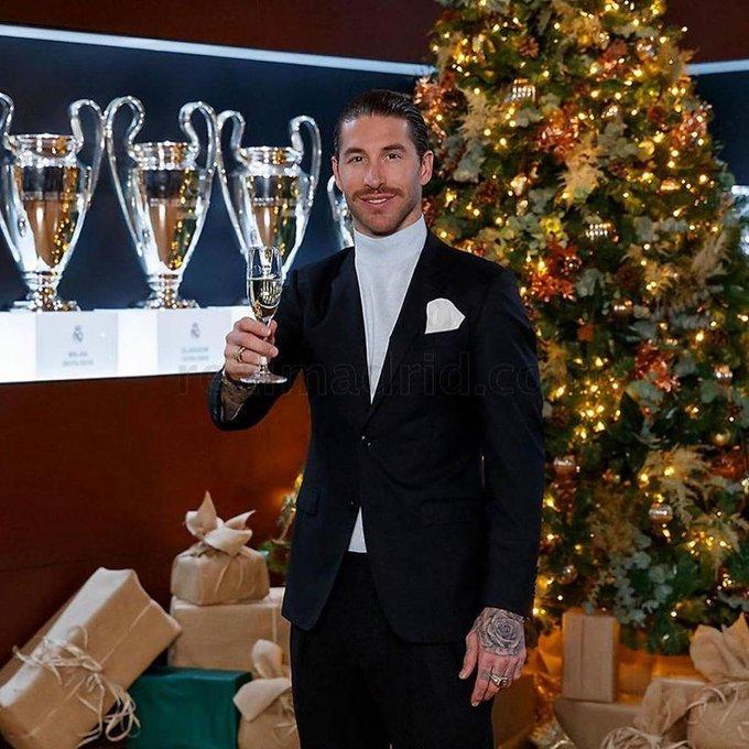 بالصور لاعبي ريال مدريد يحتفلون بأعياد الميلاد راس السنة 2020 – الكريسمس