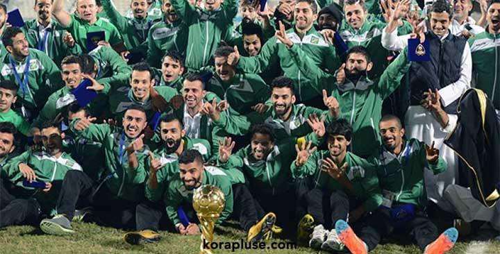 العربي بطل كأس ولي العهد الكويتي 2019 بعد الفوز على القادسية بركلات الترجيح