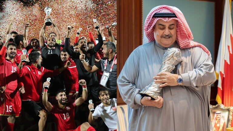 """وزير خارجية البحرين مع كأس """"خليجي 24"""": ما تغلبونه"""