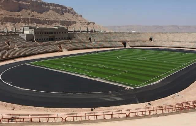 بالصور ملعب سيئون سيستضيف الدوري التنشيطي اليمني