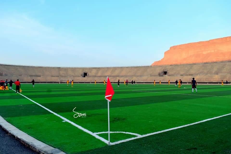 بالصور ملعب الأولمبي سيئون سيستضيف الدوري التنشيطي اليمني