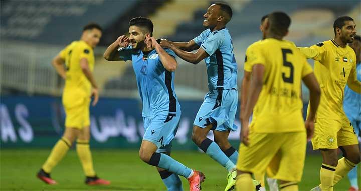 الظفرة يتاهل الى نهائي كأس رئيس الدولة الإماراتي بعد الفوز على بني ياس