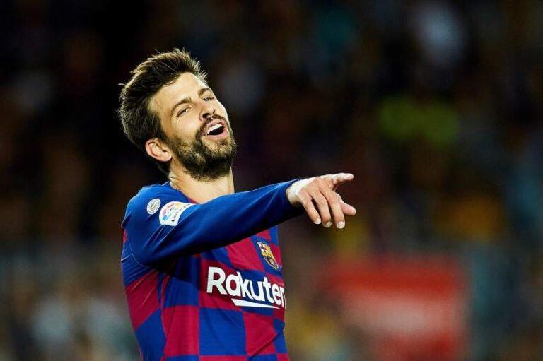 بيكيه ينسى الهزيمة ويعلق على ضعف إداء ريال مدريد