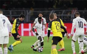 مباراة باريس سان جيرمان ودورتموند بدون جمهور لأسباب صحية