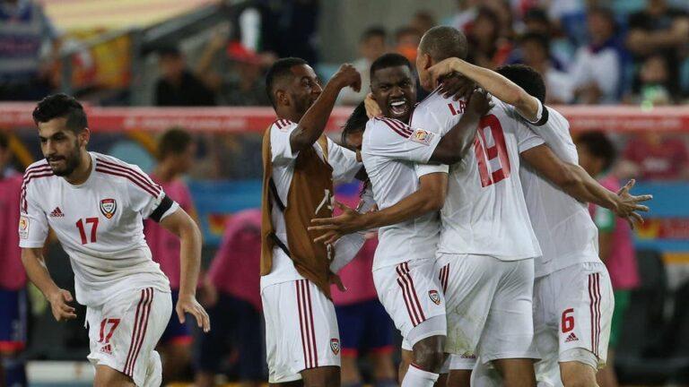 تأجيل مباريات منتخب الامارات في تصفيات اسيا المؤهلة الى كأس العالم 2022