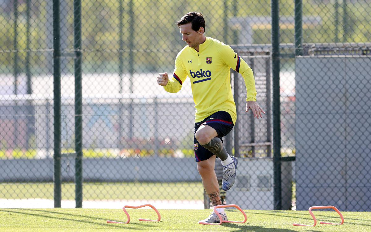 بالفيديو شاهد تدريبات لاعبي برشلونة بعد أستئناف الموسم الحالي 2020