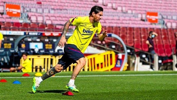مصير ليونيل ميسي في مباراة برشلونة ضد ريال مايوركا
