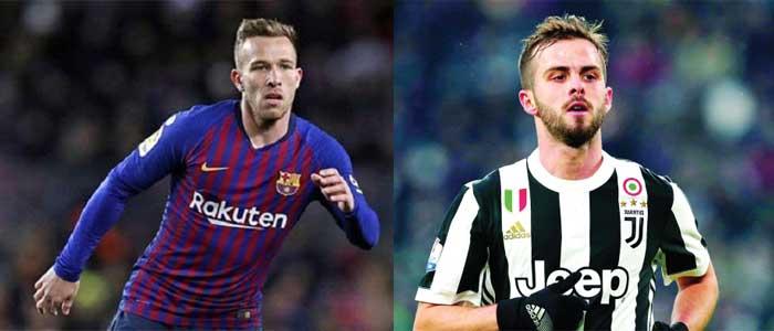 مافيا إدارة نادي برشلونة تقرر الاستغناء عن ارثر الى يوفنتوس مقابل بيانيتش