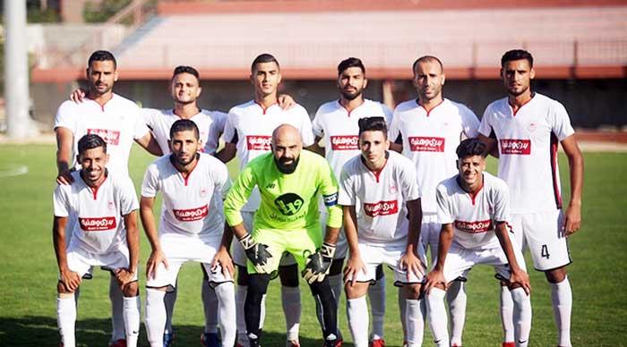 استعدادات فريقي شباب رفح و غزة الرياضي قبل مبارة نهائي كأس فلسطين