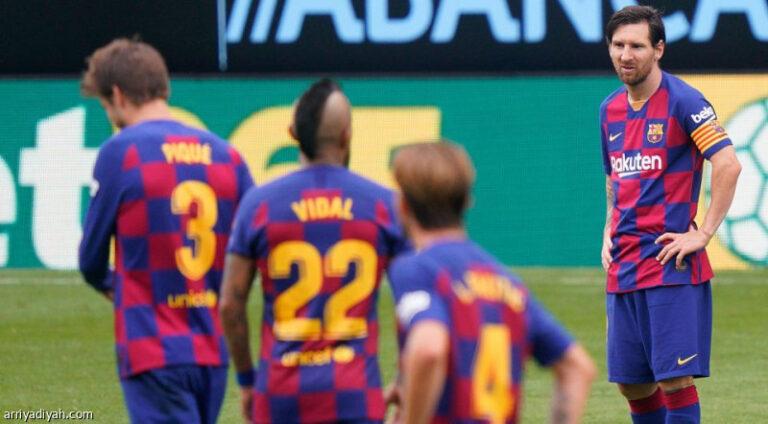 اخبار سيئة لفريق برشلونة قبل لقاء نابولي الايطالي