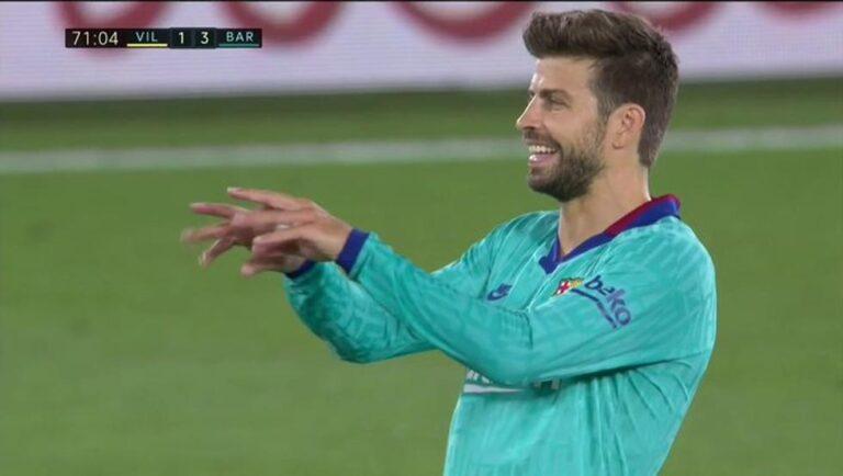 بيكيه ينتقد التحكيم بعد فوز برشلونة على فياريال
